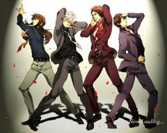 Anime boys series gintama