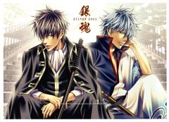 Gintama Gintoki and Hijikata