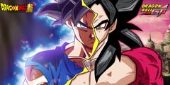 Goku Ultra Instinct X Super Saiyan 4 by daimaoha5a4