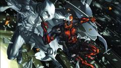 Animation Drawn Wallpapers 076 Bakuman Dark Knight Deadpool