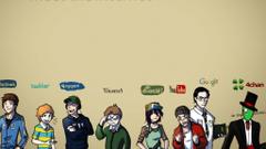 YouTubers Logos Wallpapers