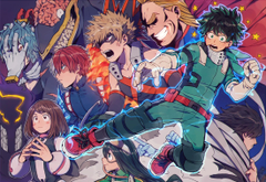 Wallpapers Boku No Hero Academia Midoriya Izuku Bakugou Katsuki