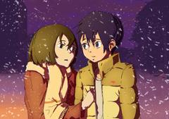 HD wallpaper Anime ERASED Kayo Hinazuki Satoru Fujinuma front