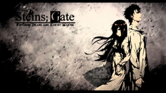 Steins gate makise kurisu okabe rintarou gj wallpapers