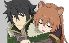 Wallpapers Anime Sleep Naofumi Iwatani Raphtalia Desktop