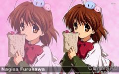Cute Nagisa Furukawa Clannad WallPaper HD