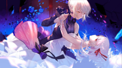 Athah Anime Fate Grand Order Fate Series Sakura Matou Saber Alter