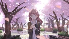 Koe no Katachi image koe no katachi nishimiya shouko sakura blossom