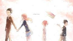 HD wallpaper A Silent Voice wallpaper Anime Koe No Katachi