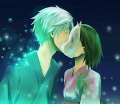 Hotarubi no Mori e image Gin and Hotaru HD wallpapers and