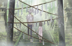 Wallpapers children back rope gate mask lights ladder Gin