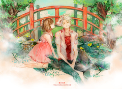 Wallpapers Hotarubi no Mori e Takegawa Hotaru Gin anime girls