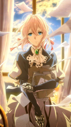 Violet Evergarden phone wallpapers Animewallpapers