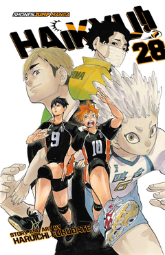 Haikyu Vol 28 Amazon co uk Haruichi Furudate Books