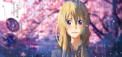 Anime Your Lie In April Kaori Miyazono Wallpapers