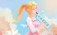 Wallpapers Your Lie in April Kaori Miyazono HD Anime