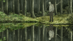 My favourite shots from Mushishi Zoku Shou