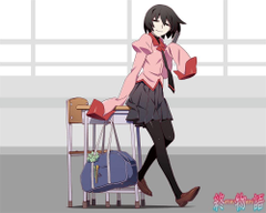 Owarimonogatari Anime Airs October 4 New Visual Promotional