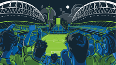 CenturyLink Field comes alive on custom Xbox One console
