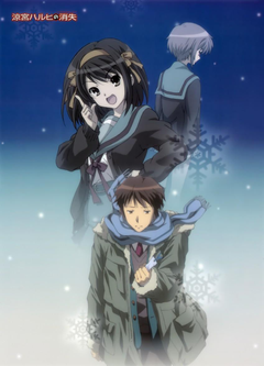 The Disappearance of Haruhi Suzumiya image alternative poster HD