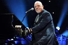 Image of Billy Joel Playing Piano