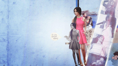 Camila Cabello Blue and Pink Wallpapers by beLIEve91