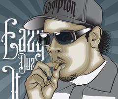 Eazy E nwa gangsta rapper rap hip hop eazy