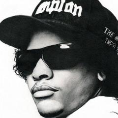 1024x1024 Eazy E nwa gangsta rapper rap hip hop eazy