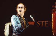 ELTON JOHN rock pop glam classic piano concert wallpapers