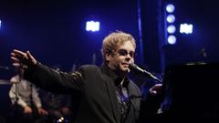 ELTON JOHN rock pop glam classic piano r