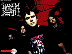 Napalm Death Napalm Death Wallpapers Metal Bands Heavy Metal