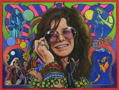 Janis Joplin by ED