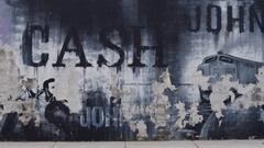 Hello I Johnny Cash by Caro Sheridan