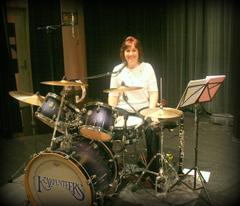 Karen Carpenter On Drums