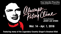 Media Theatre News ALWAYS PATSY CLINE IS ON STAGE AT THE MEDIA