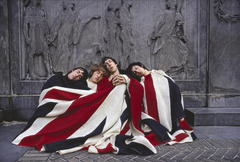 music flags The Who Pete Townshend British music bands