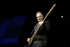 Sting Concert Raises 1 million Talking Now