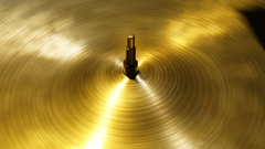 stock photo of cymbal drums music