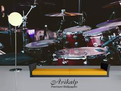 Avikalp Awi4697 Drum Set Music Instrument Song Full HD 3D Wallpapers