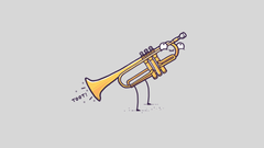 Brass Section Cornet Horn Leisure Activities Music resized by Ze