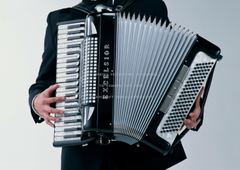 accordion player instrument music abstract