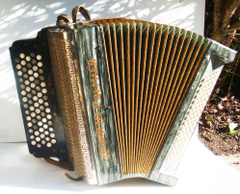 Gumshoe Arcana Hohner chromatic button accordions