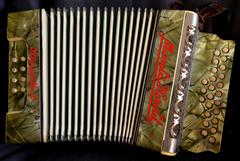 stock photo of accordion antiquarian instrument