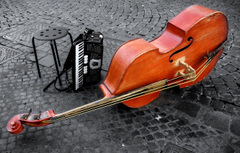 Wallpapers violin double bass instrumentos rope image for desktop