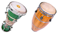 stock photo of art bongo concert