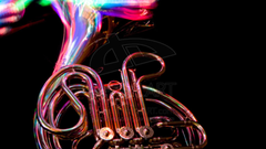 Hd French Horn Blow Red Wallpapers