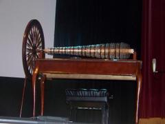 A modern glass harmonica built on Benjamin Franklin s desi