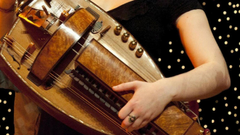 Hurdy Gurdy Bagpipes Halsway Manor