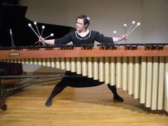 jane boxall marimba Minneapolis clinic and concert photos