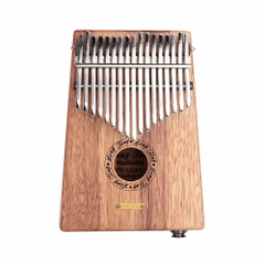 Yukker 17 key Mbira Kalimba Thumb Piano Pluggable Speaker Culture